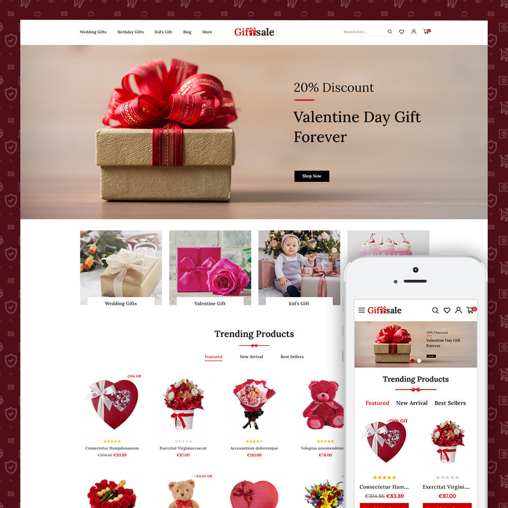 theme - Gifts, Flowers & Celebrations - Giftsale - Online Gift Shopping - 1