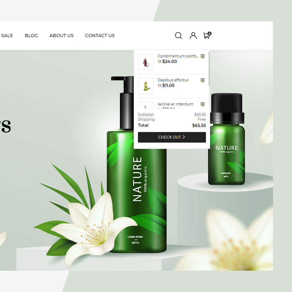 theme - Santé & Beauté - Cosmetic - Minimal Modern Store - 4