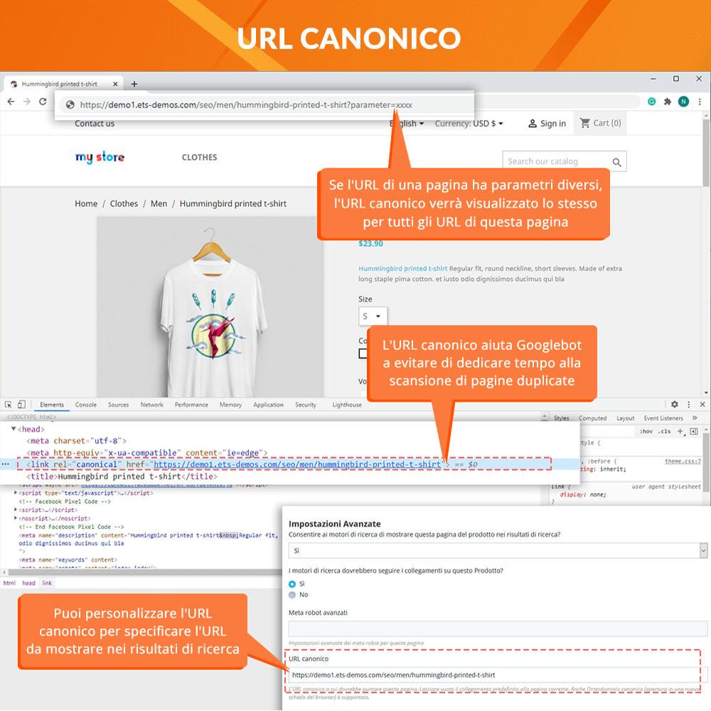 module - URL & Redirect - Awesome URL - Elimina gli ID (numeri) e ISO nell'URL - 5