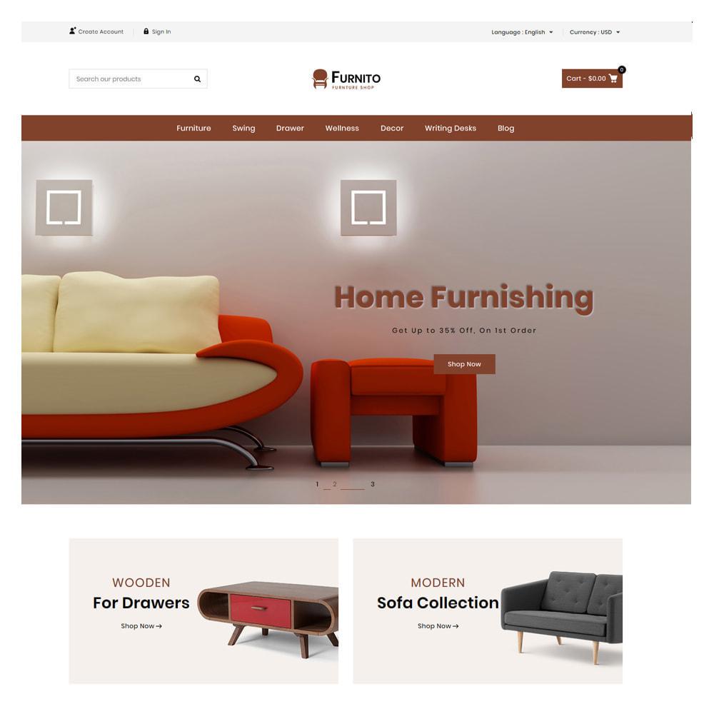 theme - Prezenty, Kwiaty & Uroczystości - Furnito Furniture & Home Shop - 1