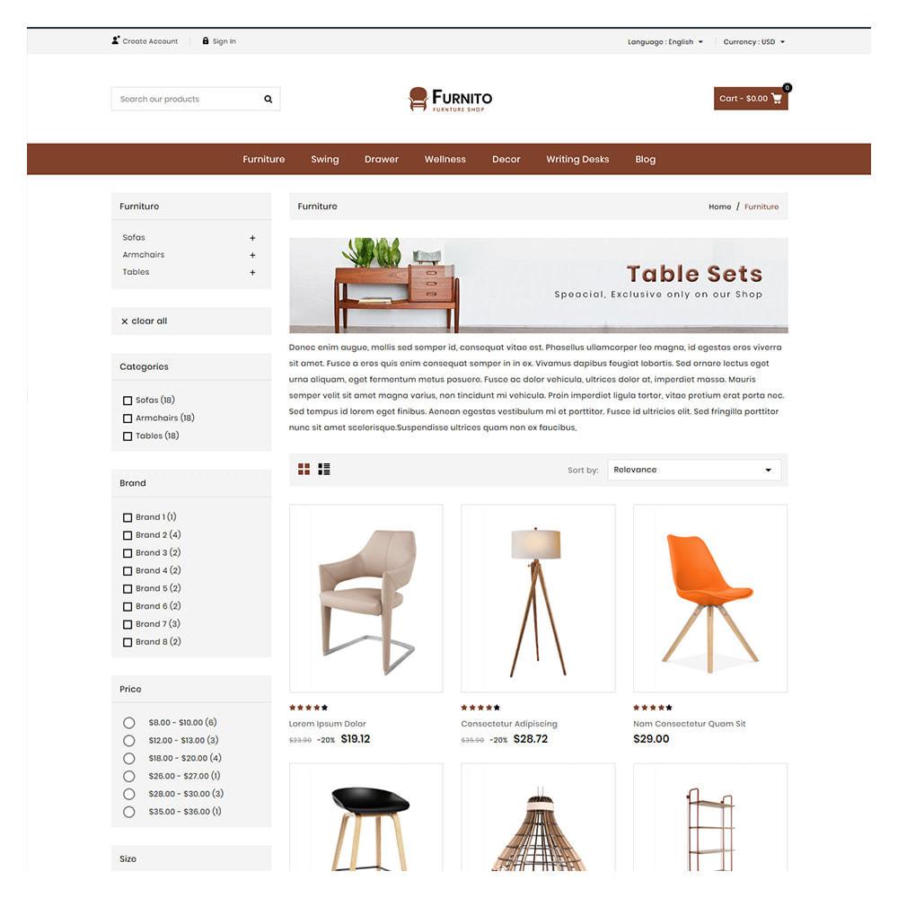 theme - Prezenty, Kwiaty & Uroczystości - Furnito Furniture & Home Shop - 2
