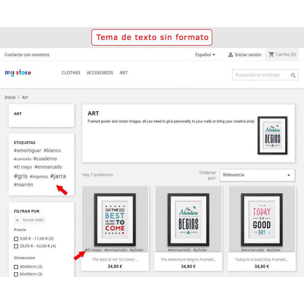 module - Etiquetas y Logos - Bloque mejorado de etiquetas - 2