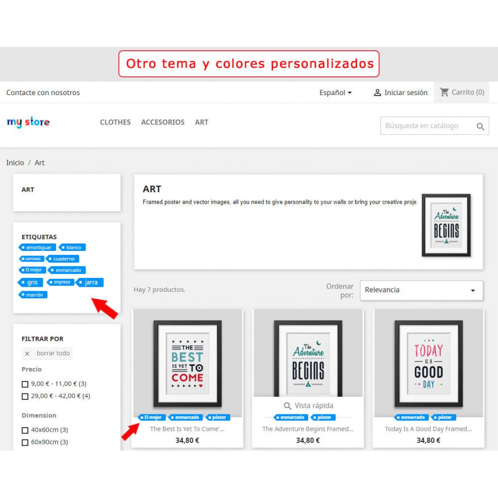 module - Etiquetas y Logos - Bloque mejorado de etiquetas - 7