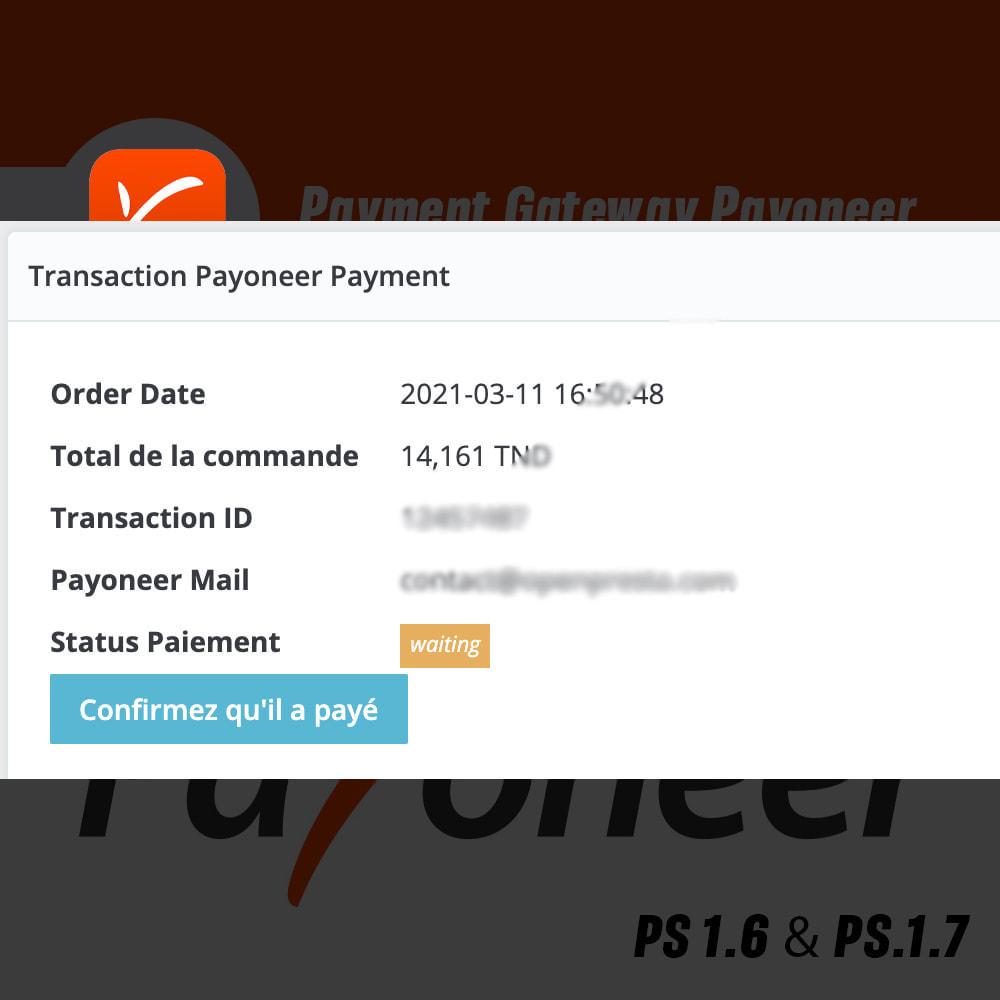 module - Express Checkout Process - Payoneer Payment Gateway - 5