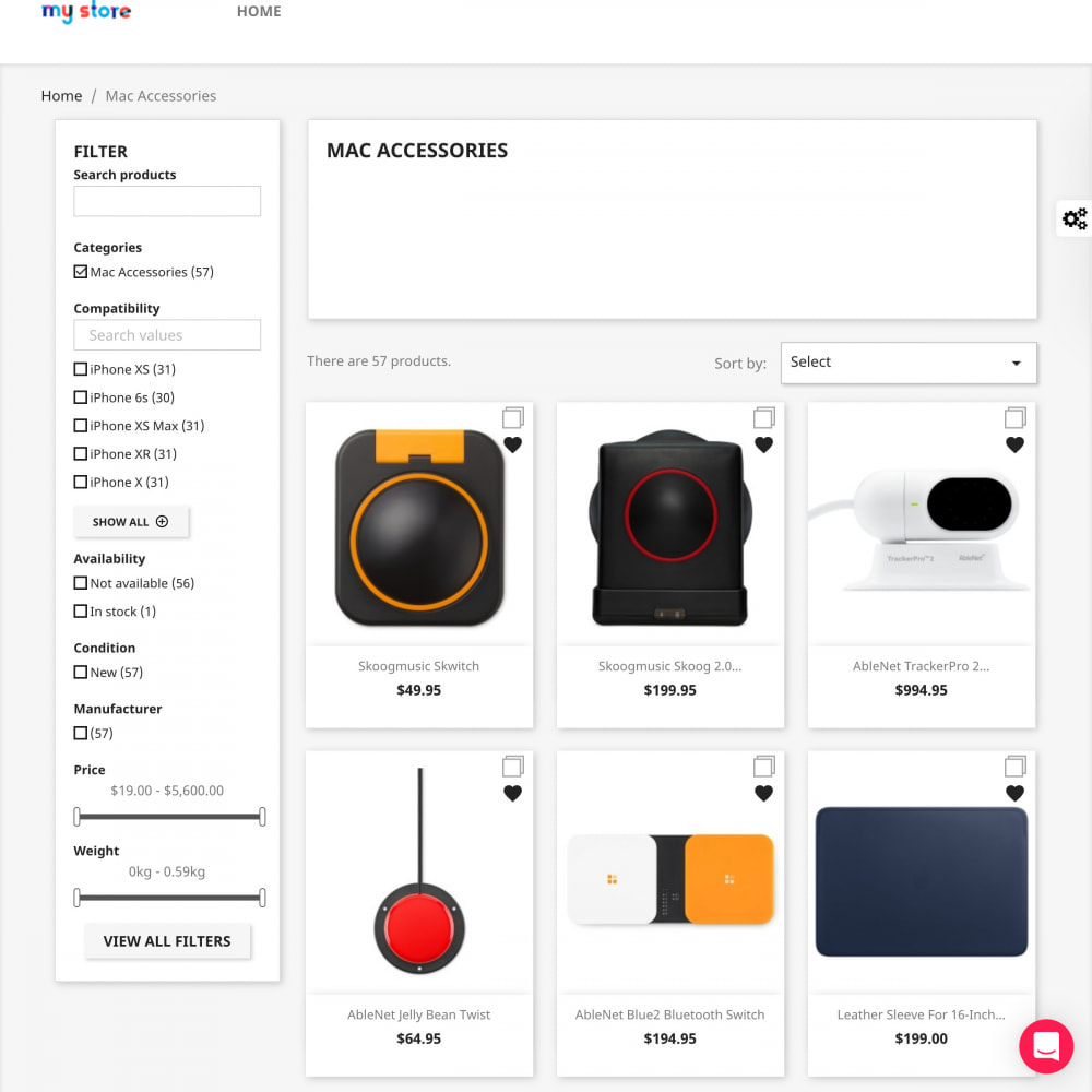 module - Zoeken & Filteren - Advanced Search Filter Pro - 2