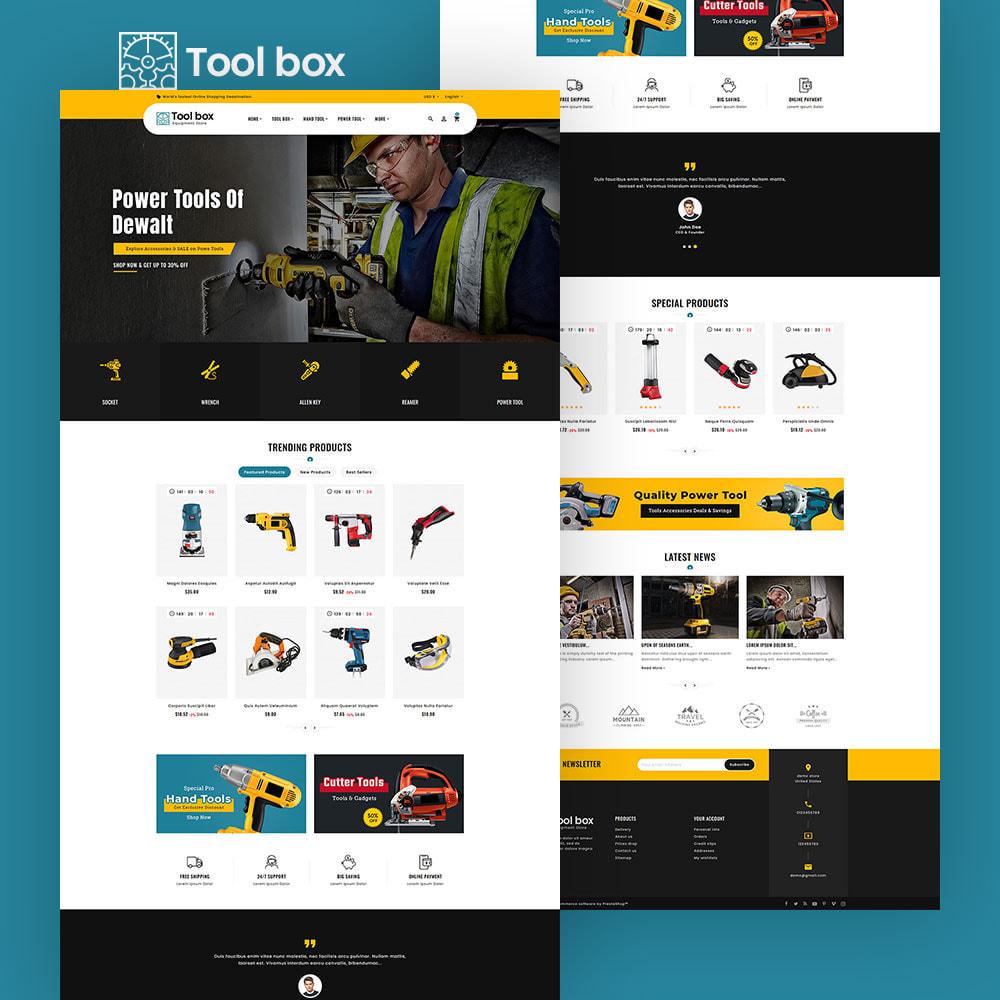 theme - Eletrônicos & High Tech - ToolBox - Drill Tools & Equipment - 4