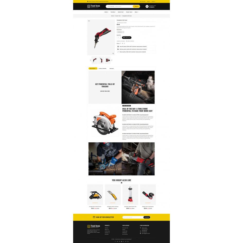 theme - Eletrônicos & High Tech - ToolBox - Drill Tools & Equipment - 10