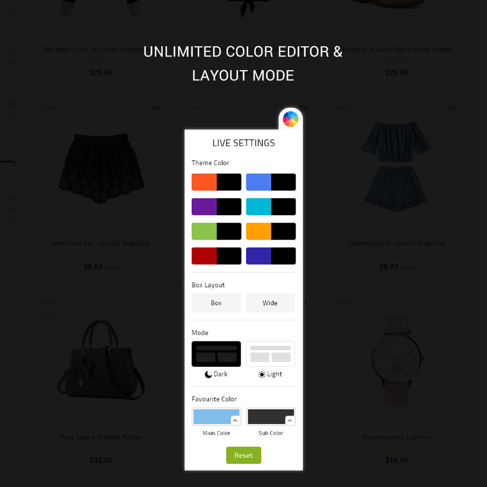 theme - Moda y Calzado - Elvana - Fashion & Clothing Shop - 4