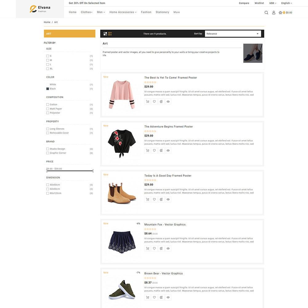 theme - Moda y Calzado - Elvana - Fashion & Clothing Shop - 8