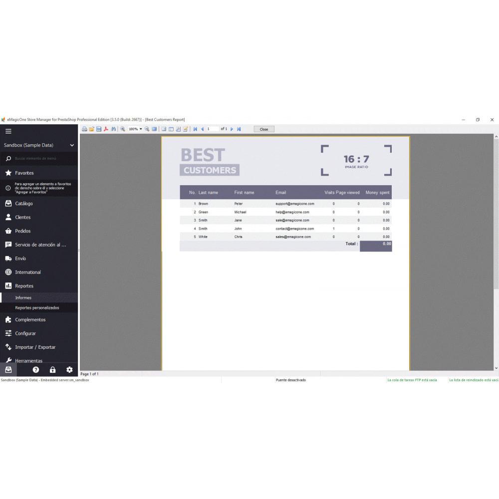 module - Integración con CRM, ERP... - Store Manager para PrestaShop - 4