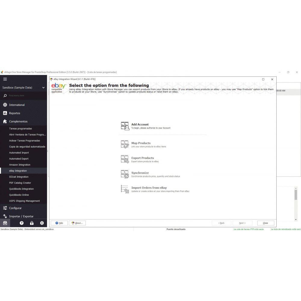 module - Integración con CRM, ERP... - Store Manager para PrestaShop - 5