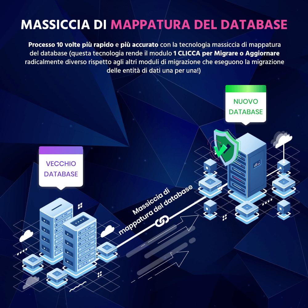 module - Data Migration & Backup - 1 CLICCA per Migrare o Aggiornare - 3