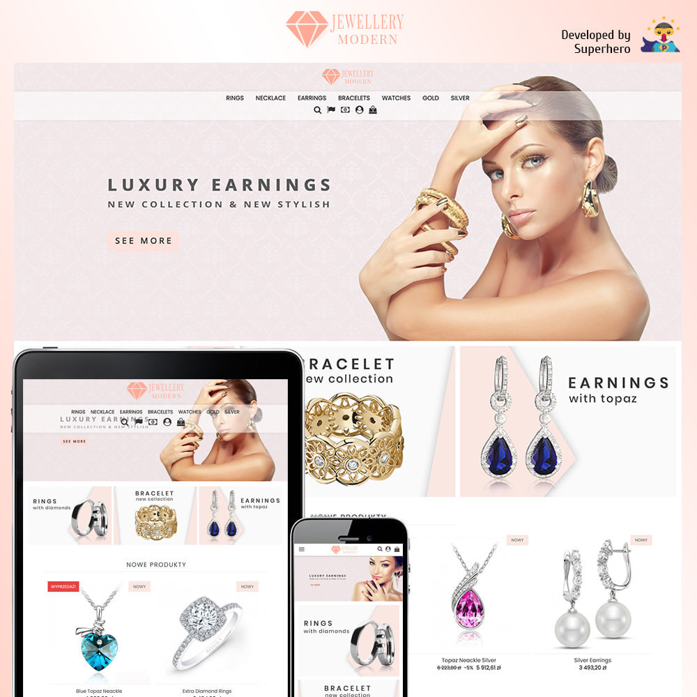 theme - Bellezza & Gioielli - Modern Jewellery - 1