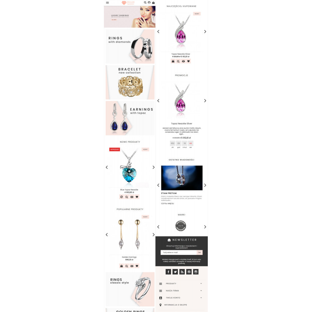 theme - Biżuteria & Akcesoria - Modern Jewellery - 7