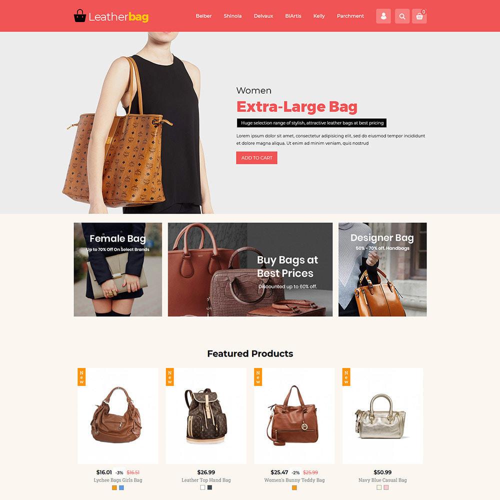 theme - Fashion & Shoes - Handbag Leather - Bag Purses Fashion Store - 2