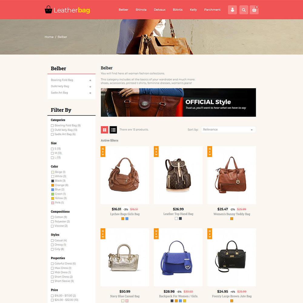 theme - Fashion & Shoes - Handbag Leather - Bag Purses Fashion Store - 3