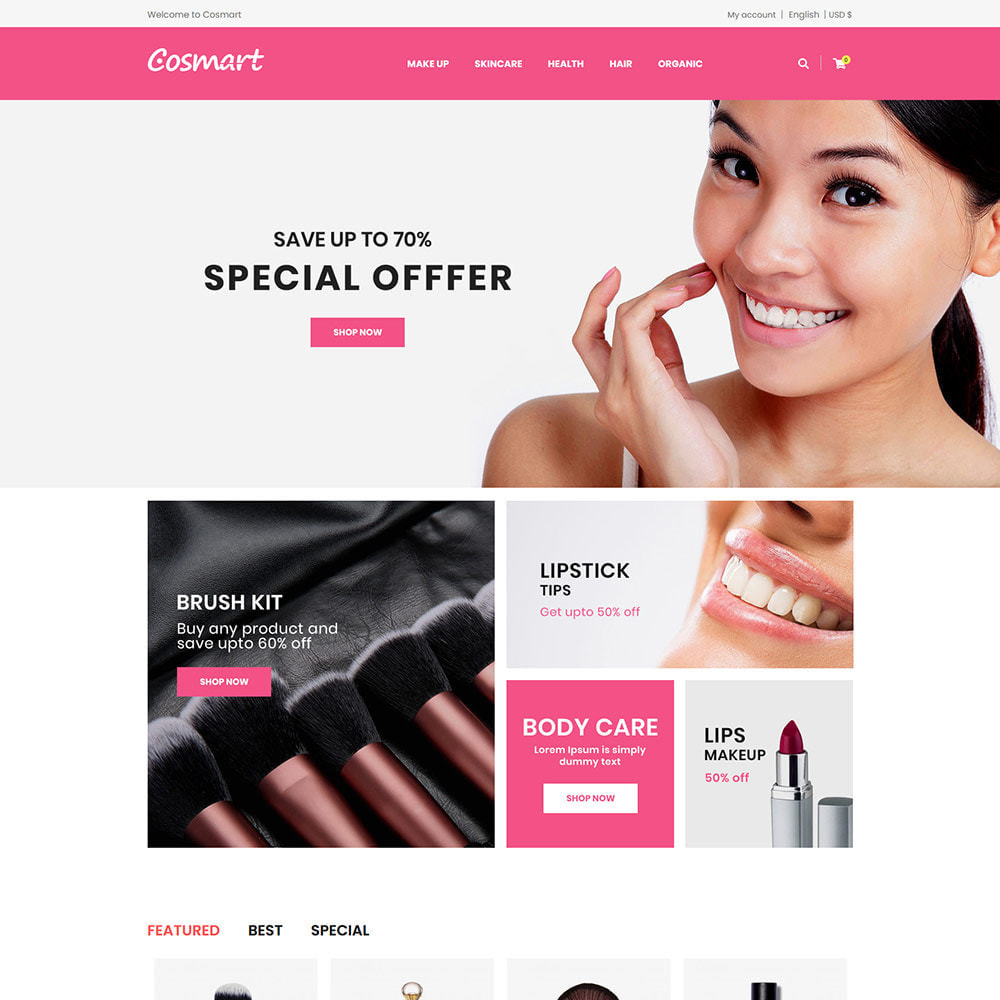 theme - Jewelry & Accessories - Cosmart Makeup Cosmetics - Beauty Gym Store - 2