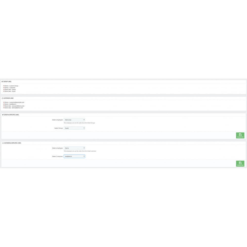 module - Gestione clienti - Personal Salesmen - 2