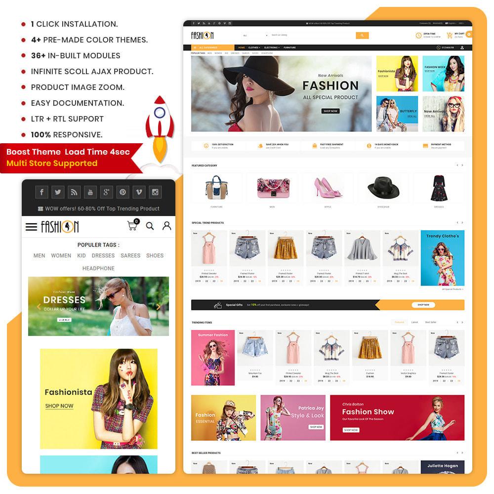theme - Fashion & Shoes - Fashion – The Large Store - 1
