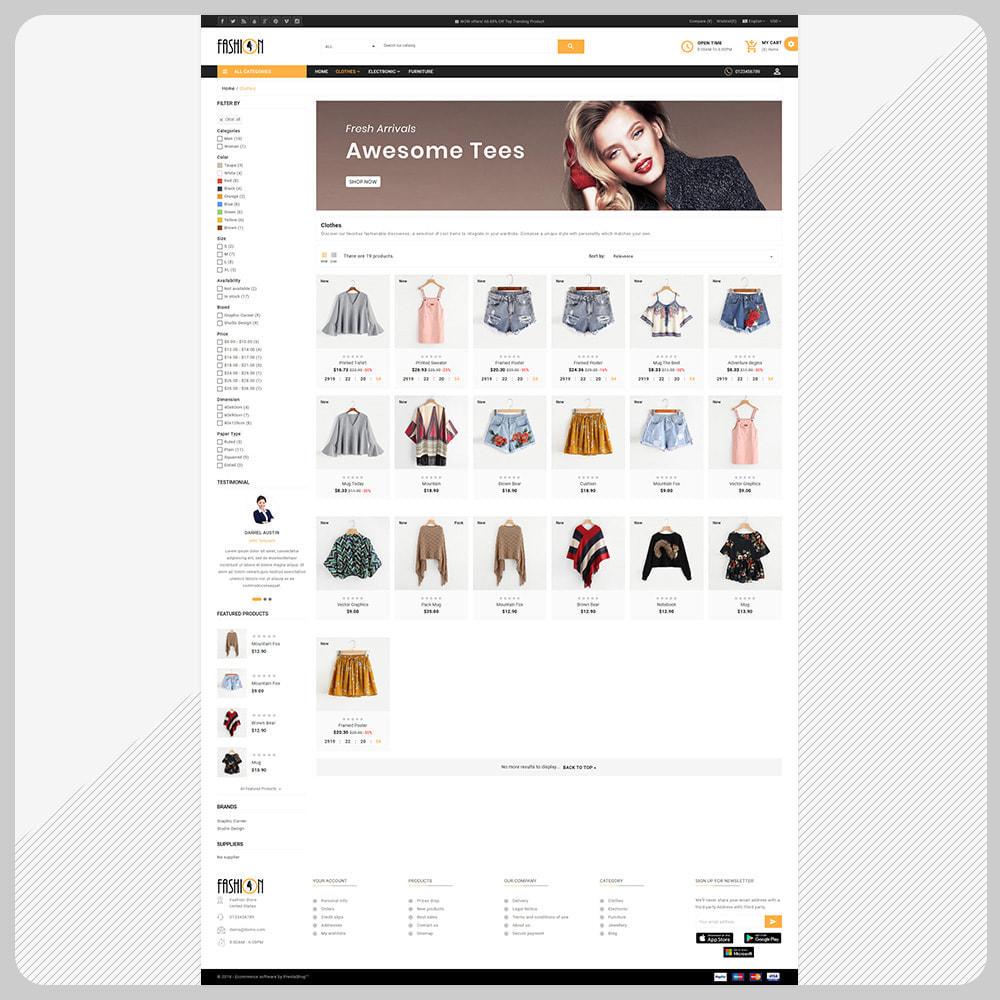 theme - Fashion & Shoes - Fashion – The Large Store - 3