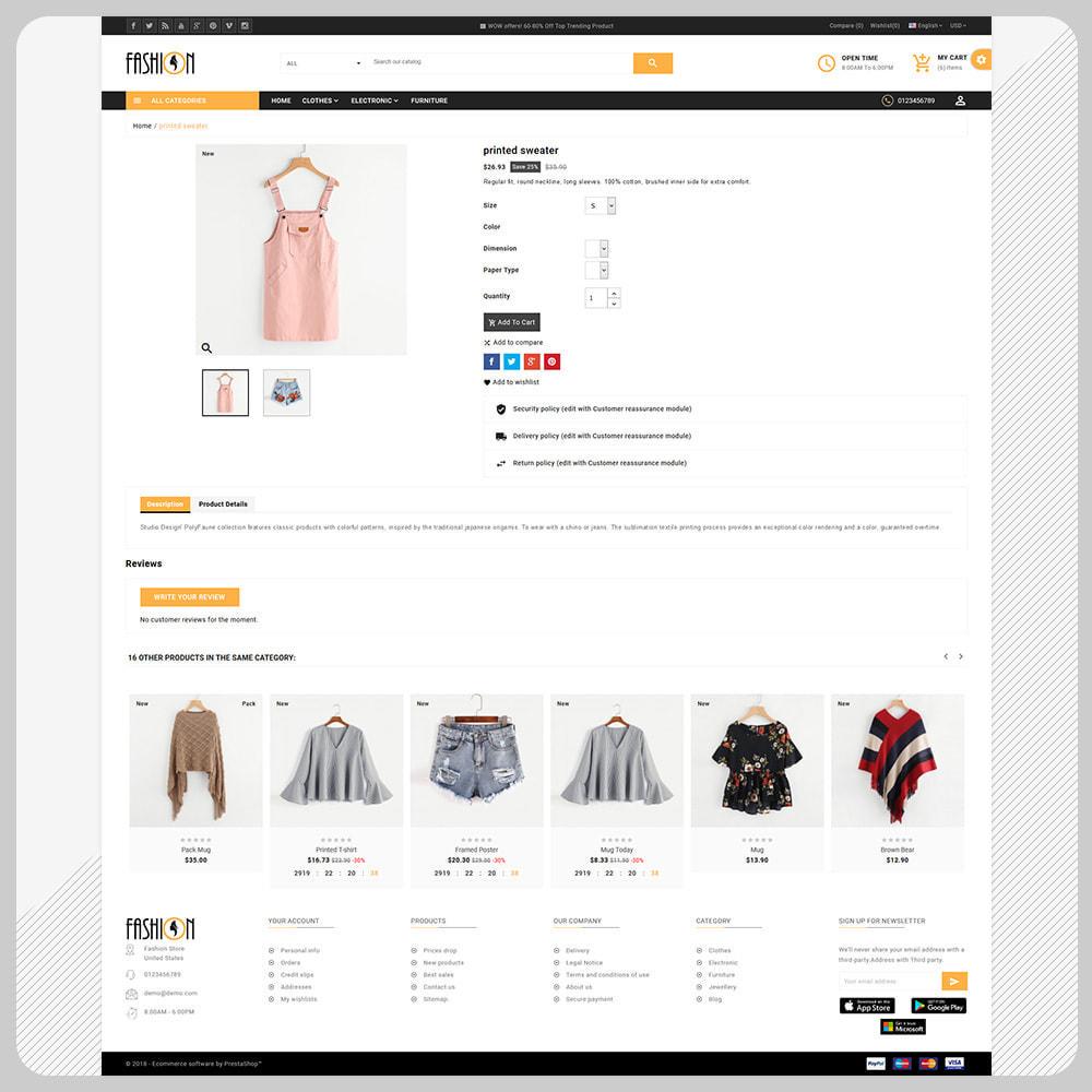theme - Fashion & Shoes - Fashion – The Large Store - 4