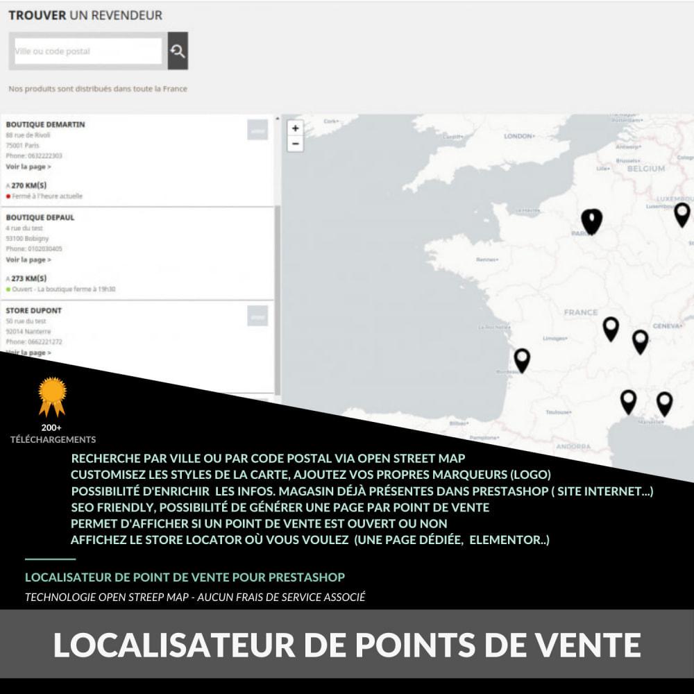 module - Paczkomaty & Odbiór w sklepie - Pro Store locator SEO (free no Google Maps) - 1