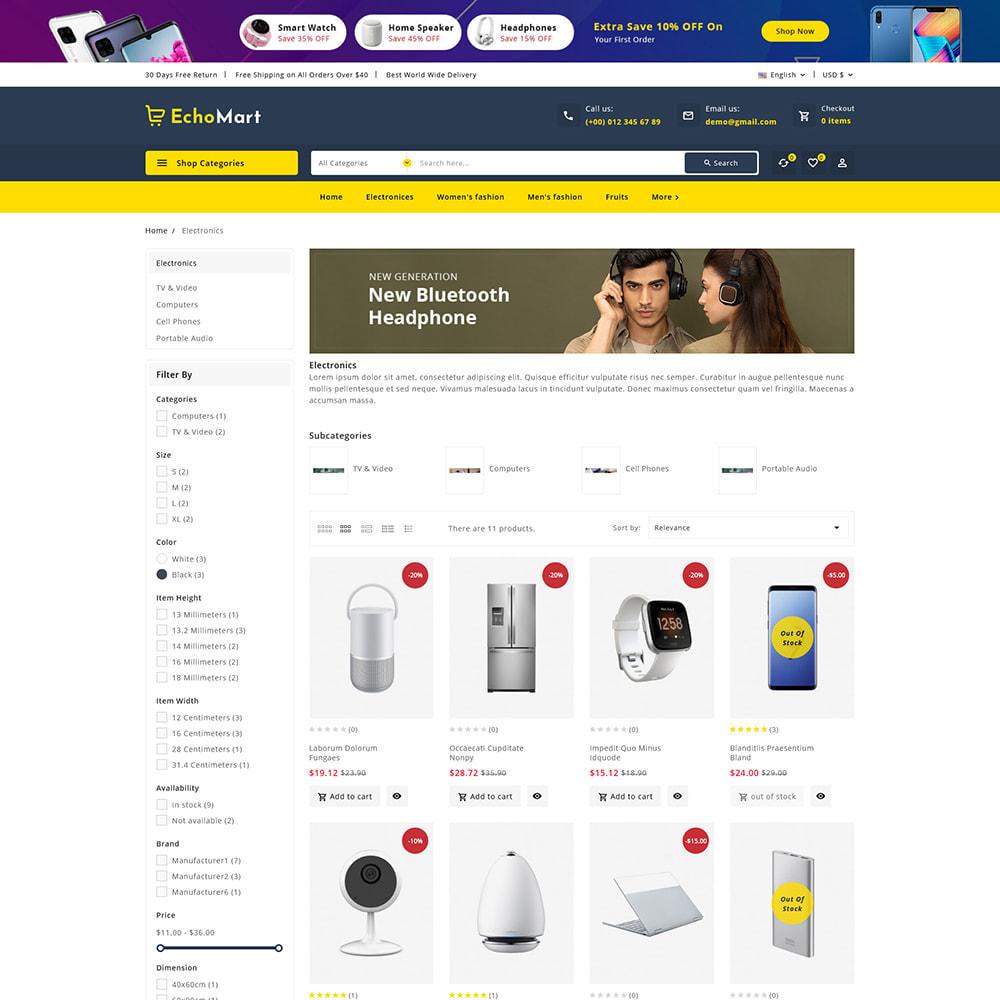 theme - Electronique & High Tech - Echomart - Electronic Super Store - 4