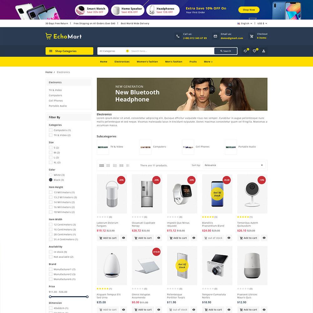 theme - Electronique & High Tech - Echomart - Electronic Super Store - 5