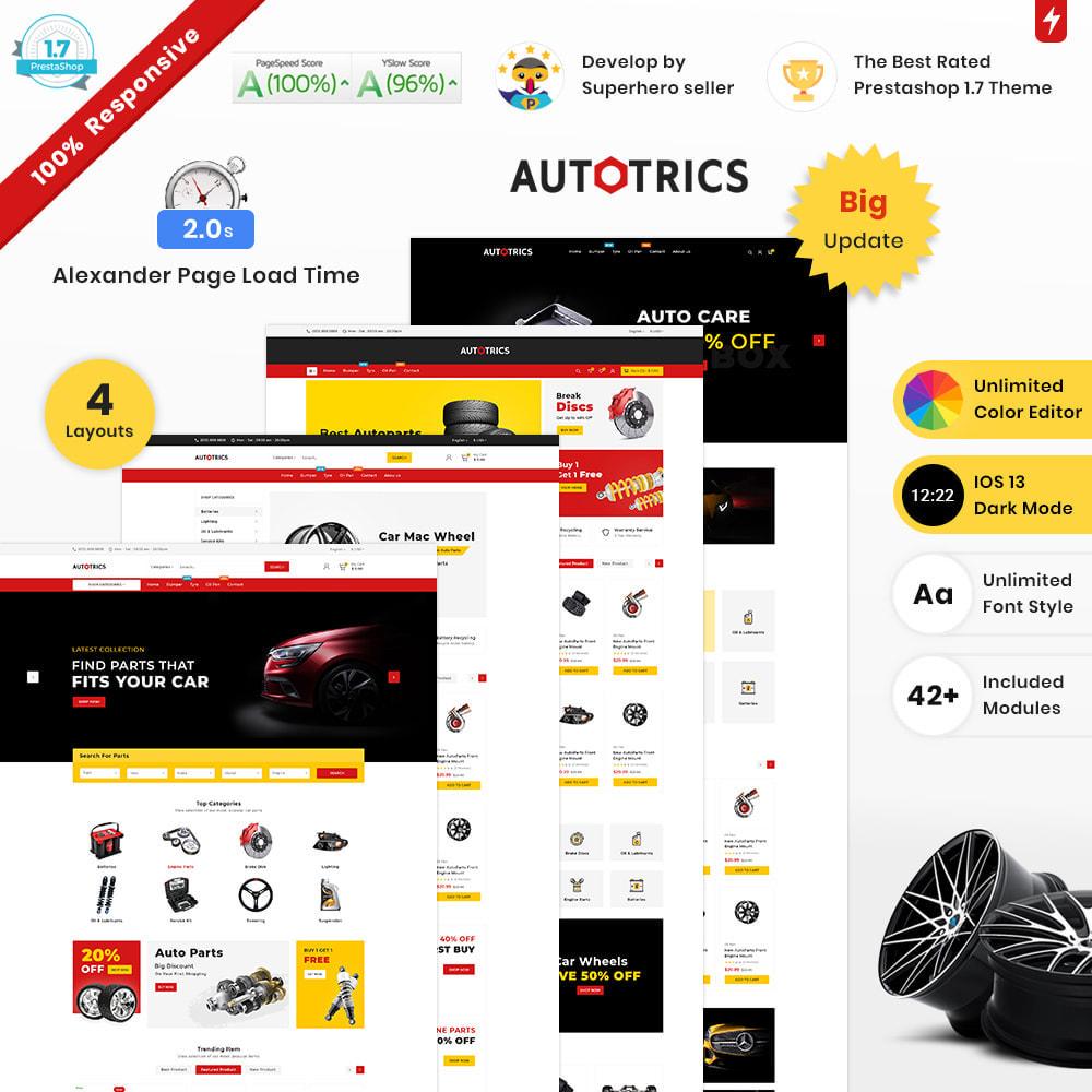 theme - Auto & Moto - Autotricas Cars–AutoPart Mega–Moto Shop - 2