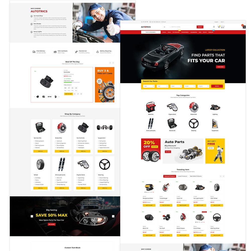 theme - Auto & Moto - Autotricas Cars–AutoPart Mega–Moto Shop - 4