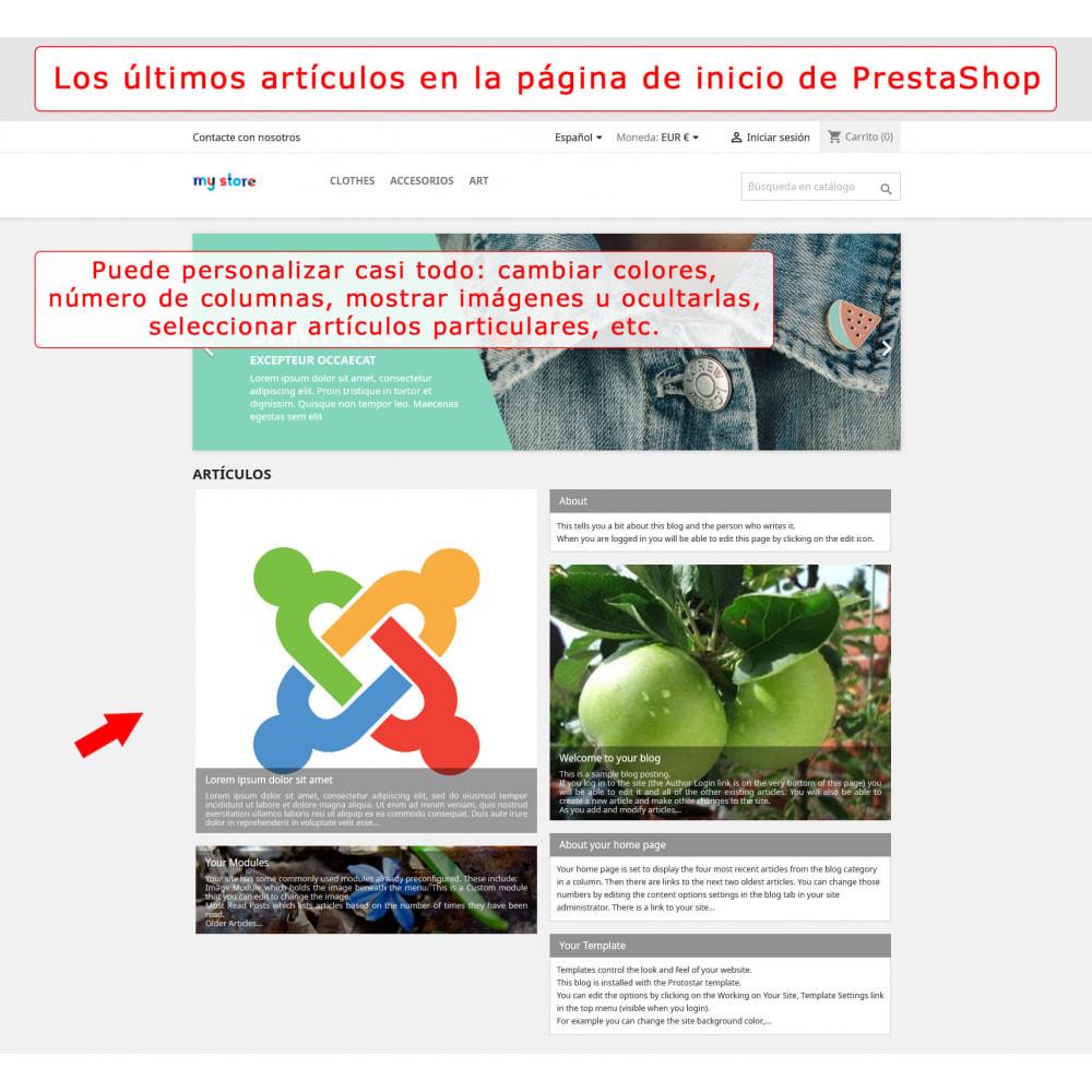 module - Marketplaces - Integración bilateral de PrestaShop y Joomla! - 1