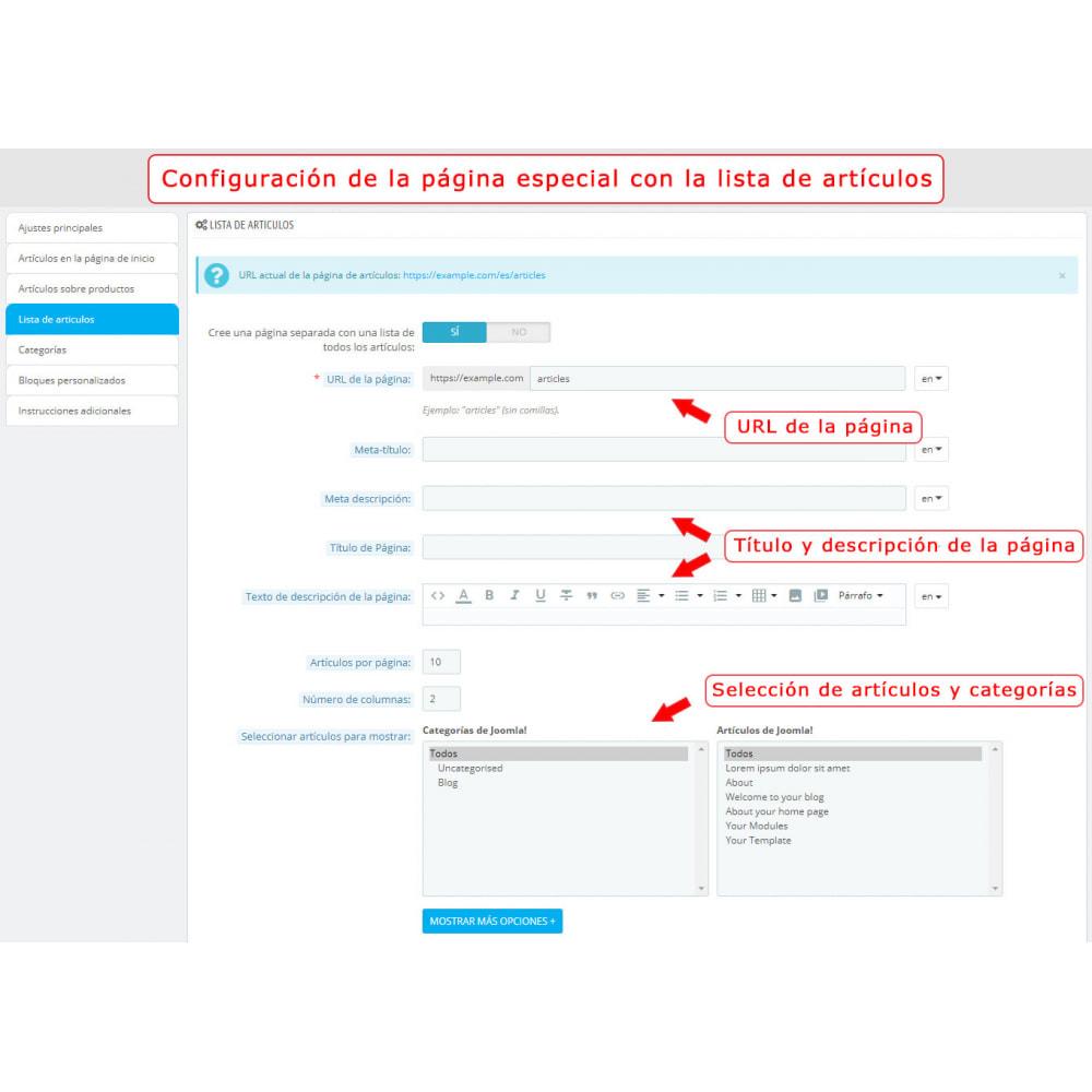 module - Marketplaces - Integración bilateral de PrestaShop y Joomla! - 9