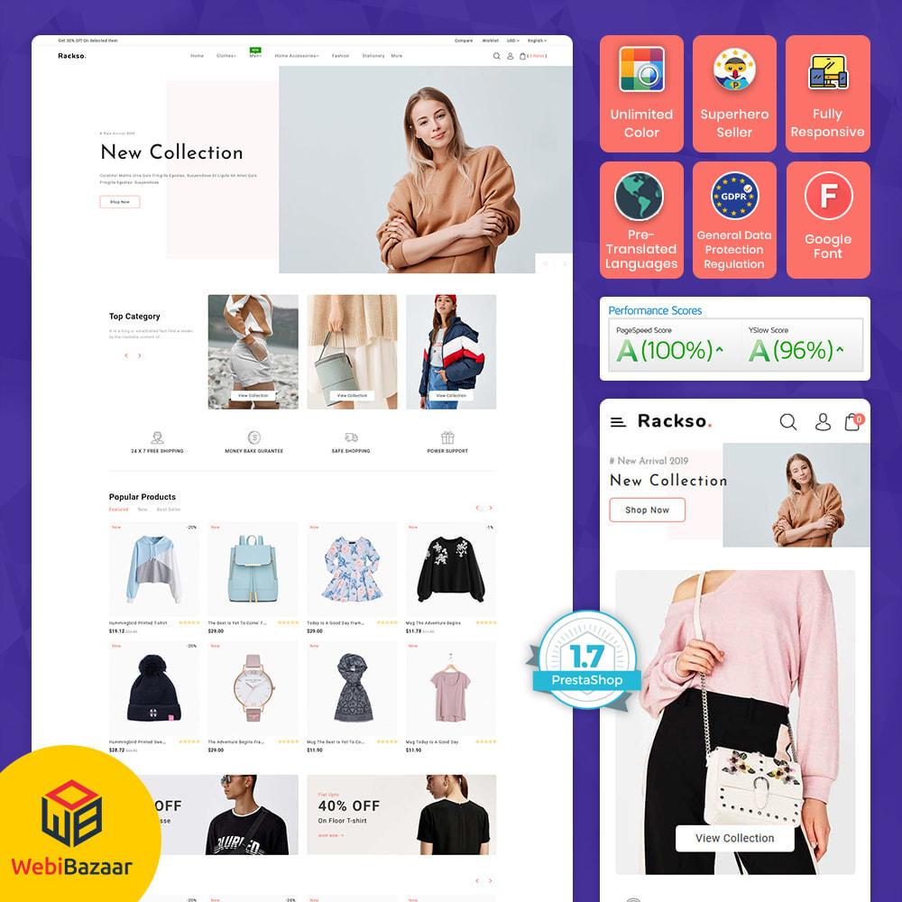 theme - Mode & Schoenen - Rackso - Multipurpose Fashion - 1