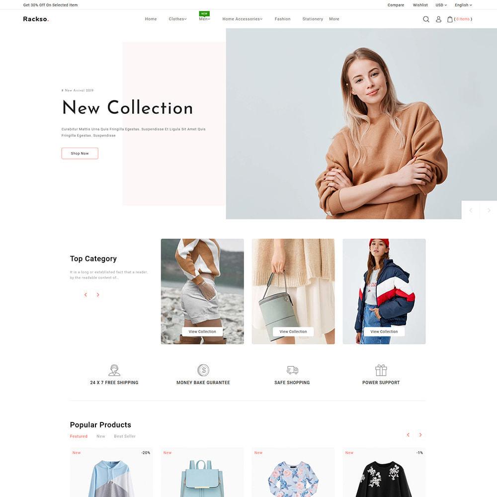 theme - Mode & Schoenen - Rackso - Multipurpose Fashion - 2