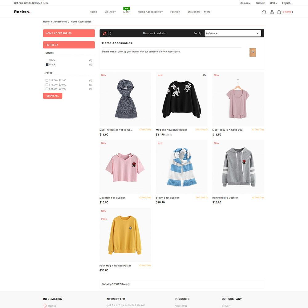 theme - Mode & Schoenen - Rackso - Multipurpose Fashion - 4