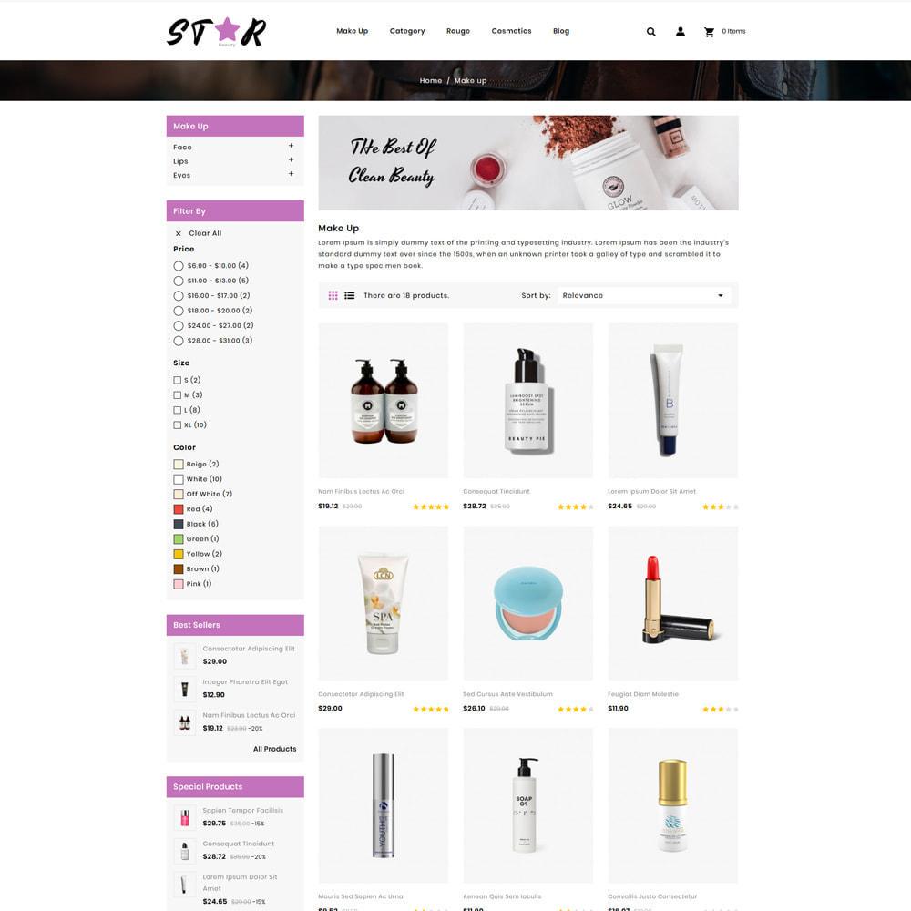 theme - Health & Beauty - Star Cosmetic Shop - 3