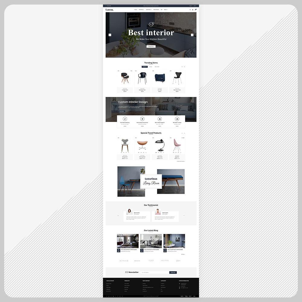 theme - Home & Garden - Luxxu Furni– Furniture Mega Store - 2