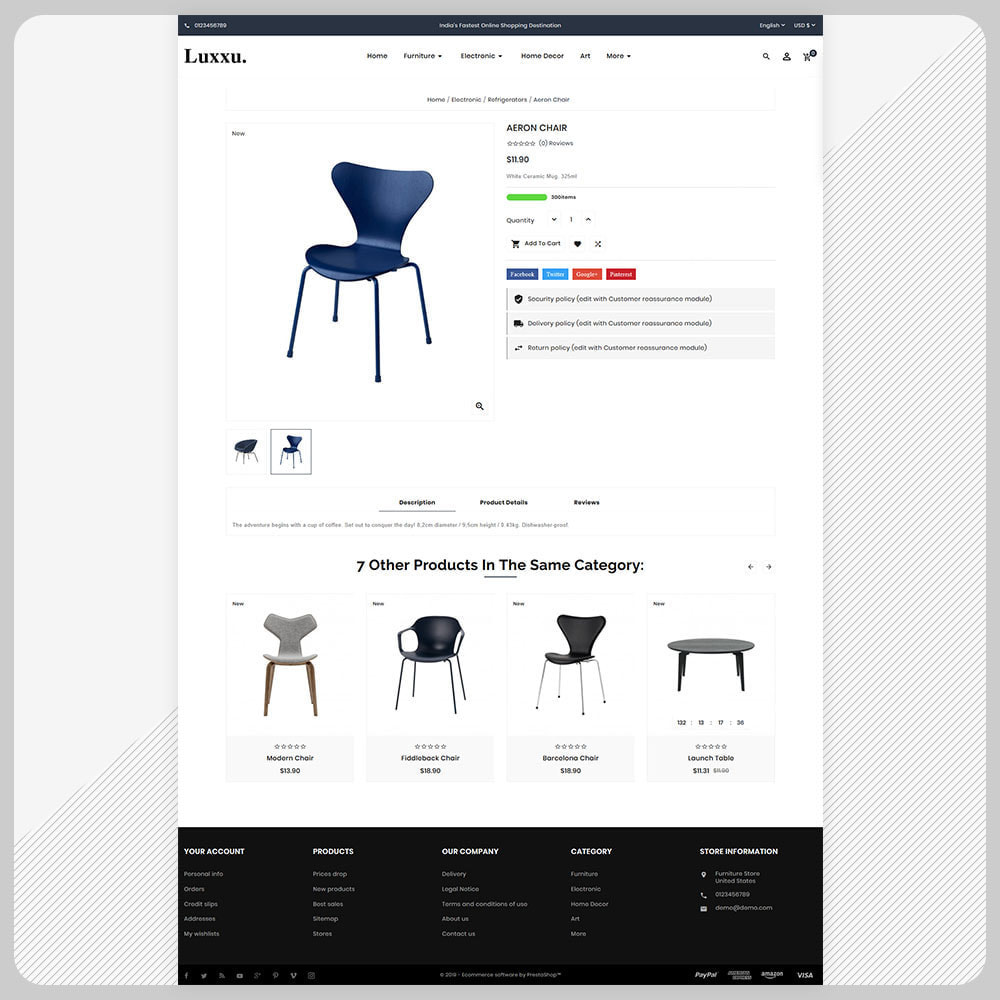 theme - Home & Garden - Luxxu Furni– Furniture Mega Store - 4