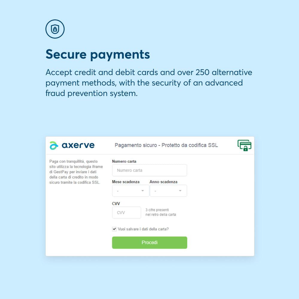module - Paiement par Carte ou Wallet - Axerve Payment - 3