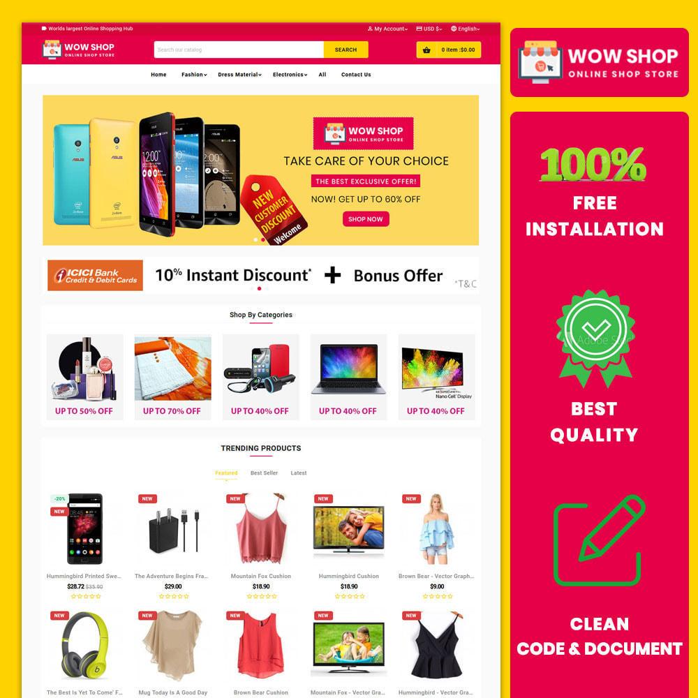 theme - Electronics & Computers - WowsShop Super Store (Electronics, Fashion, Mall) - 1