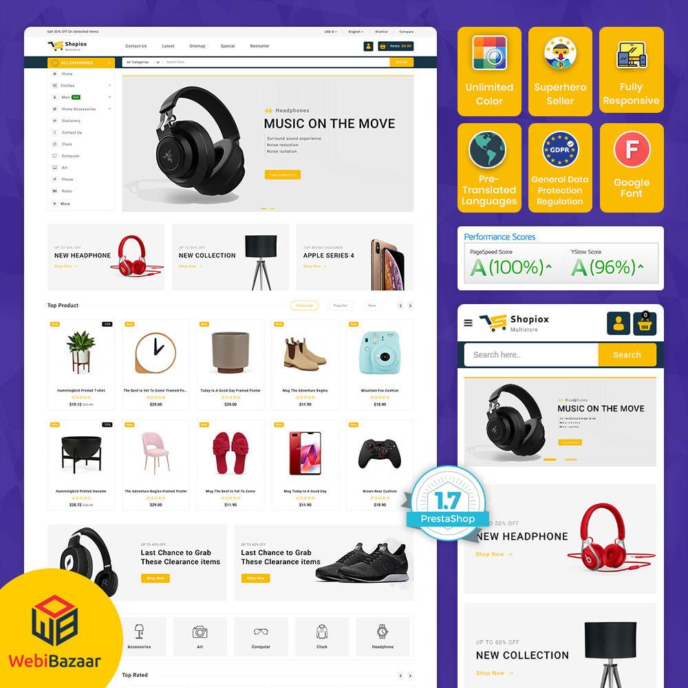 theme - Electronics & Computers - Shopiox - Super Market Multipurpose Store - 1
