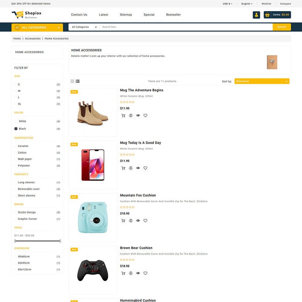 theme - Electronics & Computers - Shopiox - Super Market Multipurpose Store - 5