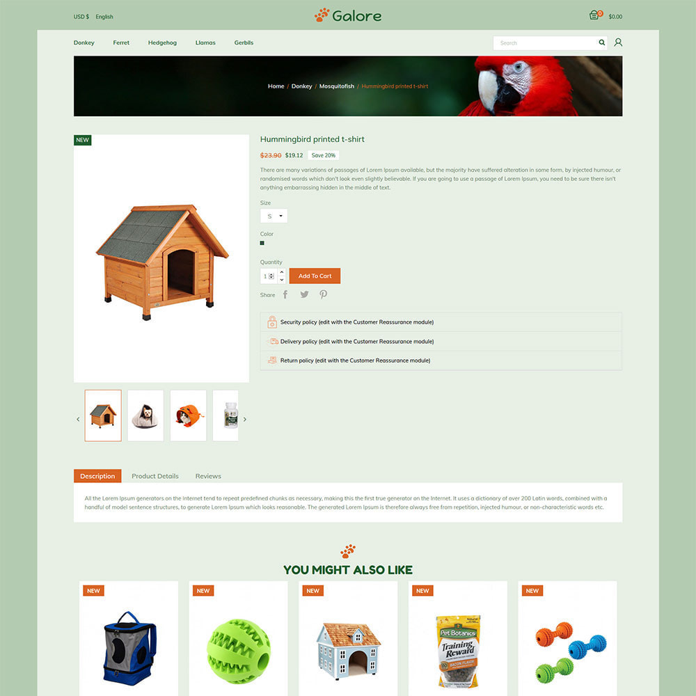 theme - Animals & Pets - Animal Pet -  Food  Cat  Supplies Store - 5