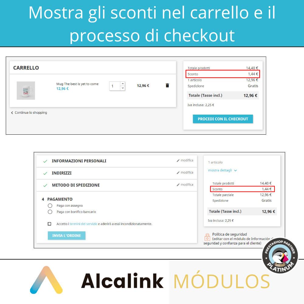 module - Promozioni & Regali - Mostra gli sconti sul carrello e sul checkout - 4