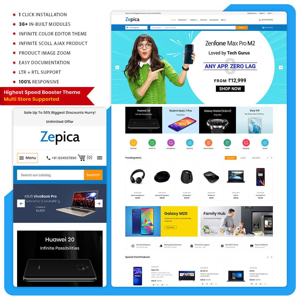 theme - Electronics & Computers - Electronic Zepica - Mega Store - 1
