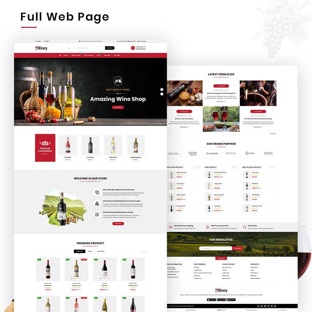 theme - Napoje & Wyroby tytoniowe - Winery Mega France–Wine  Alcohol–Drink Super Store - 3
