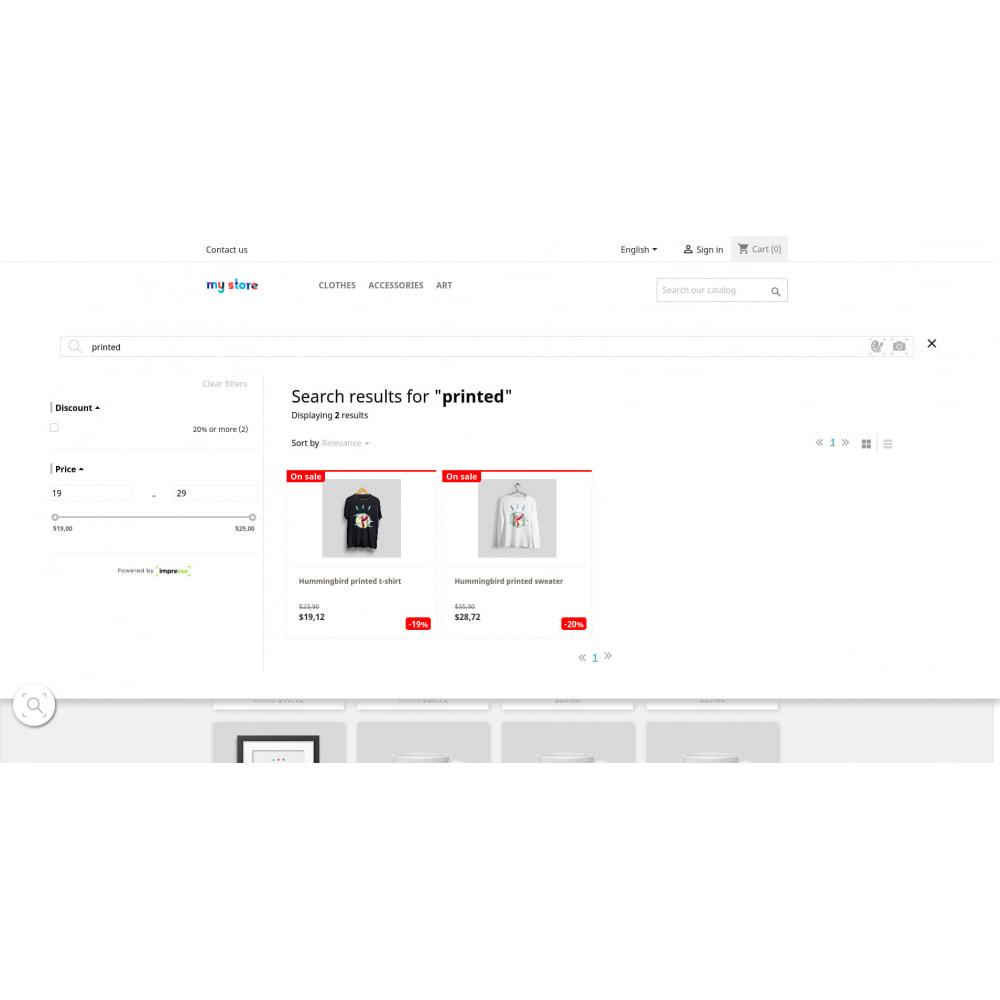 module - Zoeken & Filteren - Impresee Creative Search Bar & Analytics - 3