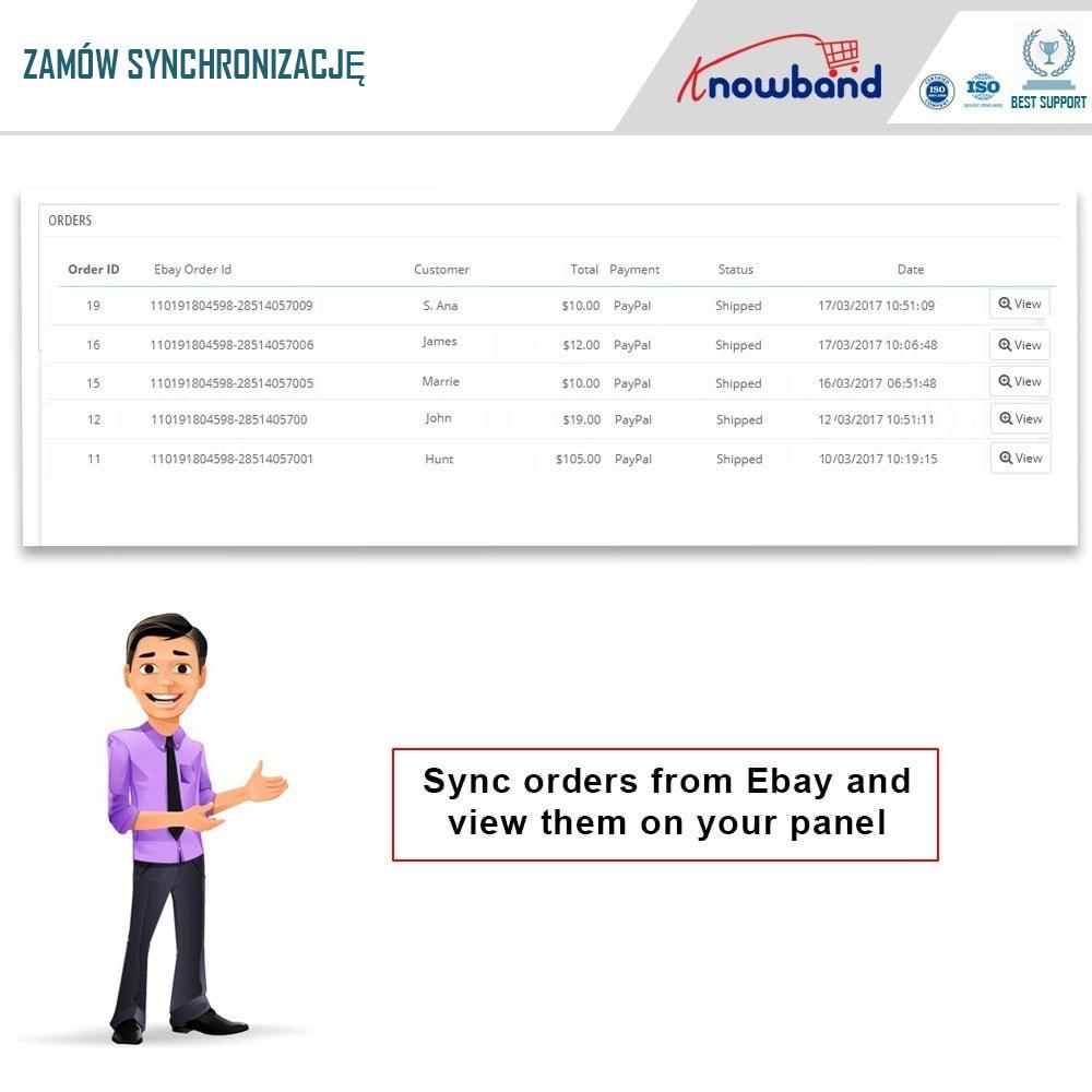 module - Platforma handlowa (marketplace) - Knowband - Integracja z rynkiem eBay - 3