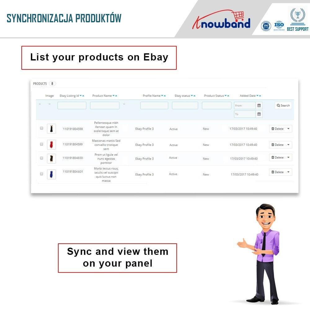 module - Platforma handlowa (marketplace) - Knowband - Integracja z rynkiem eBay - 6