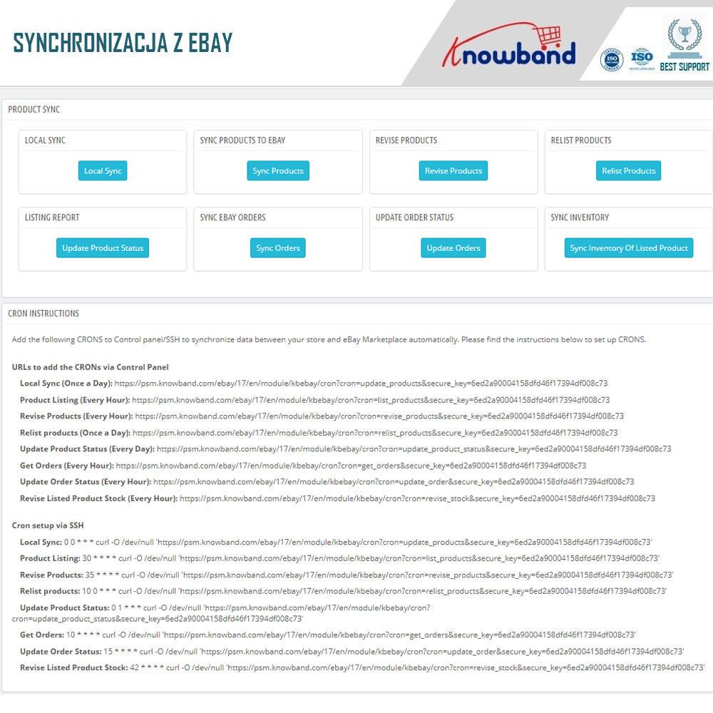 module - Platforma handlowa (marketplace) - Knowband - Integracja z rynkiem eBay - 7